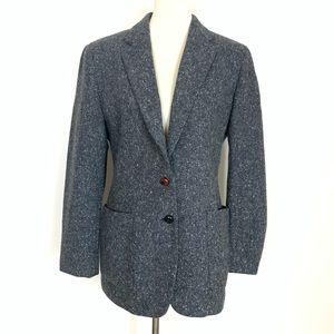 VTG Ralph Lauren Lambswool Blend Gray Blazer XL